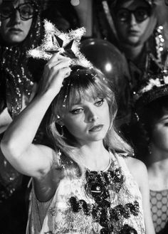 Michelle Pfeiffer in Grease 2 directed by Patricia Birch, 1982 Grease 2, Grease Movie, Michelle Pfeiffer, Raiden Fighter, Persona, Movie Stars, Movie Tv, Grease Is The Word, The Rocky Horror Picture Show
