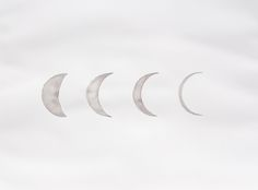 crecsent moons by stella maria baer