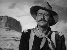 """Rio Grande"" Nov.1950.  movie #105.  Directed by John Ford.  With Maureen O'Hara, Ben Johnston, Claude Jarman, Jr."