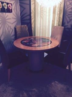 Kitchen table and 4 chairs - $100 (Bartlett)