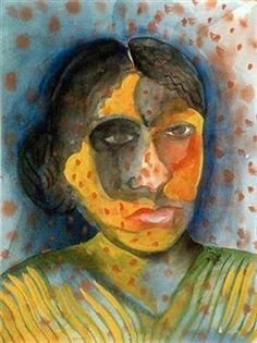 Woman By Bhupen Khakhar ,1998