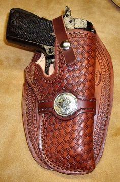 Western Leather Gun Holsters - Cochise Leather Company