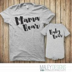 c0ab504f Holiday Gift Ideas for Expecting Moms + Baby & Giveaway. Baby Bear  OutfitPapa Bear ShirtMatching ShirtsMatching SetVinyl ShirtsBaby Giveaways Momma ...