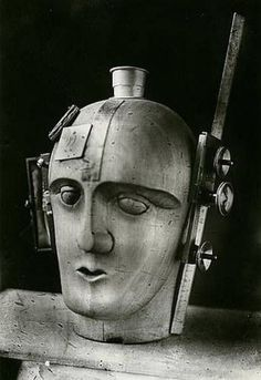 Mechanical Head - The Spirit of our Age. Raoul Hausmann