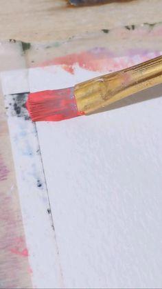 Canvas Painting Tutorials, Diy Canvas Art, Diy Painting, Gouache Painting, Watercolor Paintings, Watercolor Ideas, Canvas Paintings, Angel Wings Painting, Sun Illustration