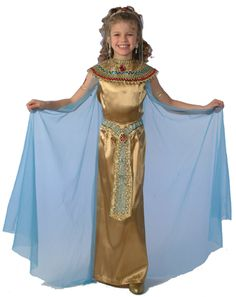 Cleopatra Child costume. I was also Cleopatra as a kid.