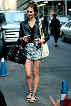 ☆ Rock 'n' Roll Style ☆ Marine Deleeuw #streetstyle #fashion #modeloffduty