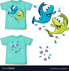 Funny Fish, Fishing Humor, Adobe Illustrator, Vector Free, Web Design, Pdf, Illustration, Artwork, Forest Animals