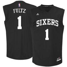 baf297e58ea Markelle Fultz Philadelphia 76ers adidas 2017 NBA Draft Replica Jersey -  Black