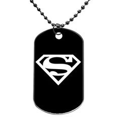 Dog Tag Oval Aluminum Marvel Hero The Avengers Superman OKking DIY ID Tag Dog Tag Pet Tag ID Necklace Pendant 133 x 22 X 0540 inches *** Click image to review more details.
