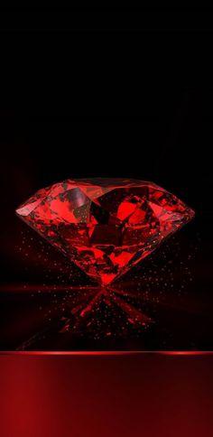 Diamond Wallpaper, Red Wallpaper, Wallpaper Backgrounds, Cellphone Wallpaper, Iphone Wallpaper, Imagenes Free, Web Design, Aesthetic Backgrounds, Diamond Gemstone