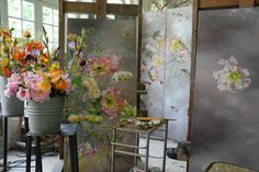 the French chateau home of artist Claire Basler.