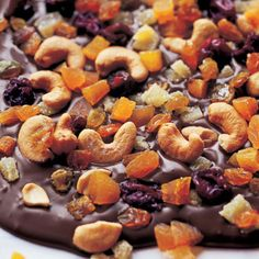 Ina Garten on Homemade chocolate bark is a great gift when youre looking for something special to bring to a holiday dinner. My French Chocolate Bark Homemade Chocolate Bark, Homemade Candies, Chocolate Treats, Chocolate Cake, Candy Recipes, Sweet Recipes, Holiday Recipes, Barefoot Contessa, Holiday Baking