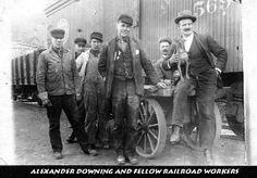 Alexander J. Downing & Fellow Railroad Workers