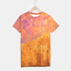 Orange Wave T-shirt