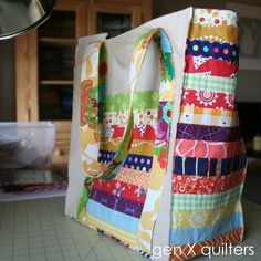 Gen X Quilters - Quilt Inspiration | Quilting Tutorials & Patterns | Connect: Scrappy Market Tote Take 1