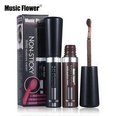 Brand New Eyebrow Dye Cream Mascara Gel Make Up Pen Waterproof Eye Brow Enhancer Long-lasting Cosmetics With Brush Eye Makeup