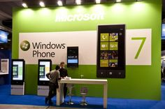 SMAU 2010 - Windows Phone 7 Editorial Stock Photo - Image of milan, phone: 16594633 Brand Promotion, Promotion Ideas, Windows Phone 7, Promo Gifts, Brand Building, Exhibition Poster, Illustrator Tutorials, Booth Design, Trade Show