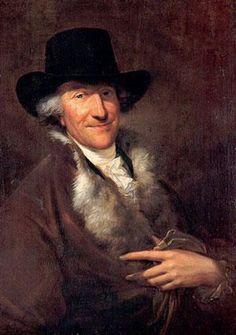 Friedrich Georg Weitsch - Retrato de Johann Christian Bach (1743–1814), até há pouco tempo considerava-se que retratava o filho mais velho de Johann Sebastien Bach,  Wilhelm Friedemann Bach.
