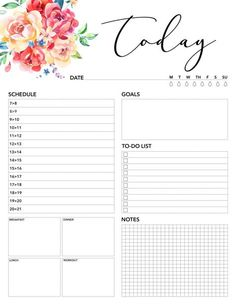 Free Printable 2018 Planner 50 Plus Printable Pages - The Cottage Market