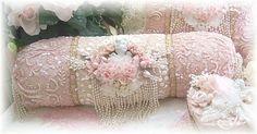 Victorian Decorative Pillows   Decorative Hand Beaded Embroidered Pillow Velvet Pillow Victorian ...