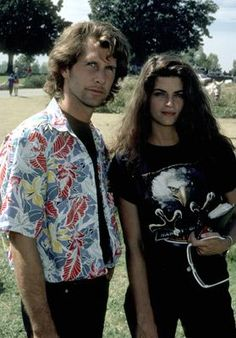 Many ppl have said i resemble the young Kirstie Alley. Pictured here w/ Parker Stevenson