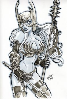 Lady Death by PatrickFinch.deviantart.com on @deviantART