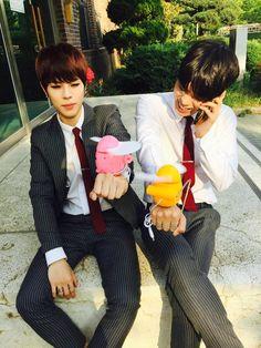 Kisu and Daeil