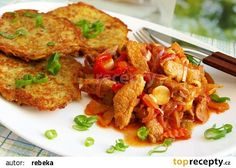 Tip na zítřejší oběd od Nadi :) No Salt Recipes, Pork Recipes, Snack Recipes, Dinner Recipes, Cooking Recipes, Czech Recipes, Ethnic Recipes, Food 52, Food And Drink