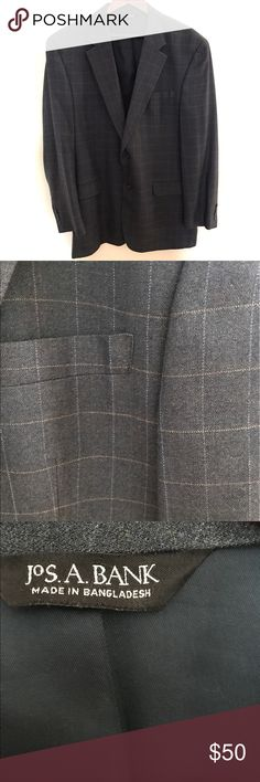 Jos A. Bank Silk and Wool Sports Jacket Incredibly handsome sports jacket. Silk and wool blend. Jos A. Bank Suits & Blazers Sport Coats & Blazers