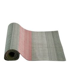 This Winter Woodlands Stripe Table Runner is perfect! #zulilyfinds