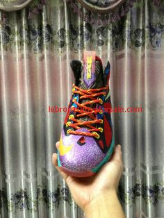 Lebron 10 MVP Laser Purple Electric Yellow Poison Green Turquoise Green  Turquoise aa26aaa1d
