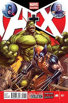 A+X - Wikipedia, the free encyclopedia: time travel sensibilities...Cable shows up in WWII to stop a young Trask and Peter David future Hulk needs to stop someone for Red Hulk as president?!?