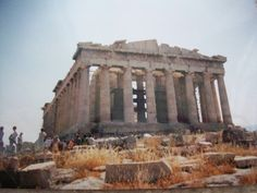The Parthenon in Athens is the quintessential representation of Ancient Greek architecture.