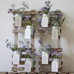 Matrimonio.it | #Tema #matrimonio: #idee per il #tableau de mariage #country #wedding