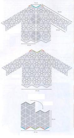 sweterek | Kraina wzorów szydełkowych...Land crochet patterns..