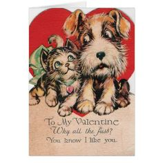 Valentine Why All The Fuss? Card
