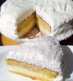 Greek Sweets, Greek Desserts, Ice Cream Desserts, Greek Recipes, Cookbook Recipes, Cake Recipes, Dessert Recipes, Cooking Recipes, Greek Cake