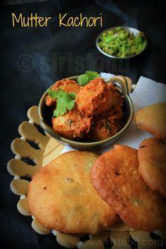 Mutter Ke Kachore | Green Peas Kachori with Dum Aloo | Indian Street Food Recipes
