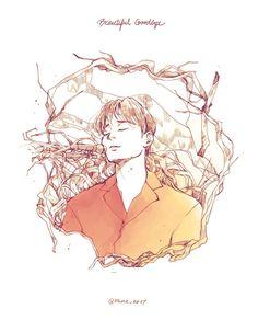 Exo Chen, Kpop Exo, Kpop Anime, Exo Fan Art, Fallen Angels, Kaisoo, Tvxq, Line Art, February