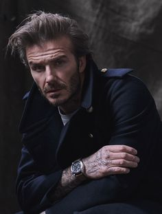 David Beckham embodies the daring values that made TUDOR what it is today. Beckham Hair, David Beckham Style, Bend It Like Beckham, Cute Asian Guys, Rugged Men, Portrait Poses, Men Portrait, Portraits, Photography Poses For Men