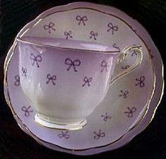 Royal Albert China Series - Lover's Knot - Teacup & Saucer Set