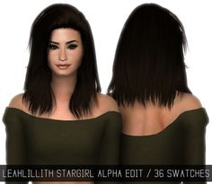 Sims 4 CC's - The Best: LEAHLILLITH STARGIRL (ALPHA EDIT) by Simpliciaty