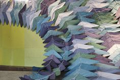 Anthropologie display // Hangers in Flight by LaValle PDX, via Flickr