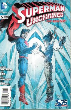 Superman: Unchained # 5 DC Comics The New 52!