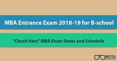Check here a complete list of  #MBA Entrance Exams available in India for the management aspirants. Major MBA Entrance Exams like CAT, MAT, XAT, SNAP, IIFT, NMAT, GMAT, CMAT, etc. There are various leading state level MBA Entrance Exams available. Get complete details here: