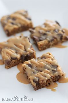 Brownies de Aveia, Manteiga de Amendoim e Chocolate
