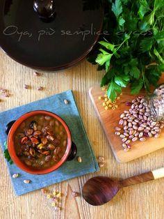 Fagioli con le cozze, ricetta ricca e gustosa Fagioli, Curry, Ethnic Recipes, Curries