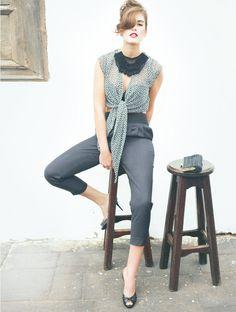 Tie Front Blouse 04/2012