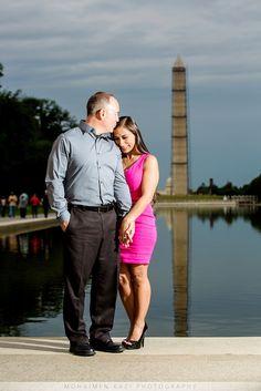 DC engagement photos - US Capitol, Lincoln Memorial, Union Station